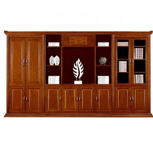 实木文件柜办公书柜展示柜组合CY2013-1