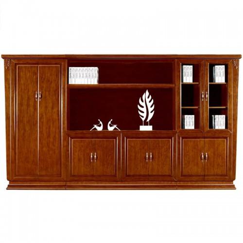 实木文件柜办公书柜展示柜组合CY2022-1
