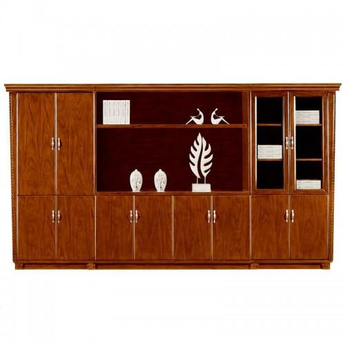 实木文件柜办公书柜展示柜组合CY2023-1