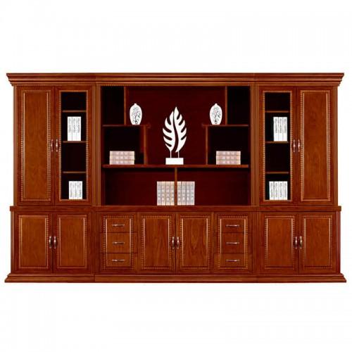 实木文件柜办公书柜展示柜组合CY2007-1