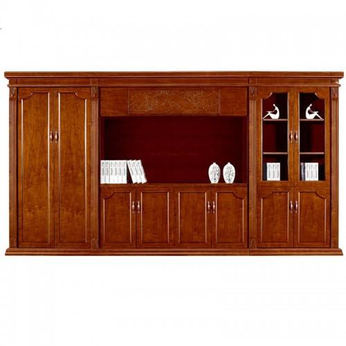 实木文件柜办公书柜展示柜组合CY2027-1