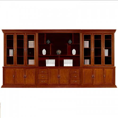 实木文件柜办公书柜展示柜组合CY3007-1
