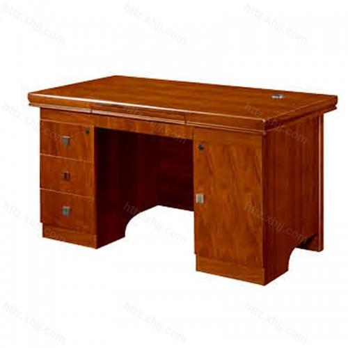 简约办公桌班台实木油漆经理桌CT 206B-1Z