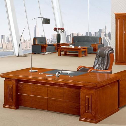 简约班台实木老板桌经理桌CT 2436Z