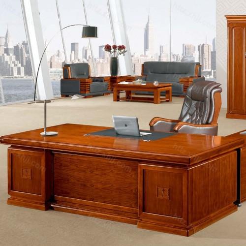 简约班台实木老板桌经理桌CT 2428Z