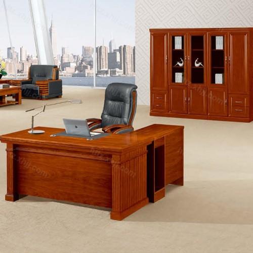 简约班台实木老板桌经理桌CT 1646Z