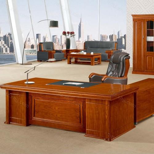 简约班台实木老板桌经理桌CT 2423Z