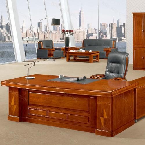 简约班台实木老板桌经理桌CT 2410H