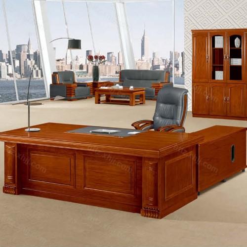 简约班台实木老板桌经理桌CT 2411Z