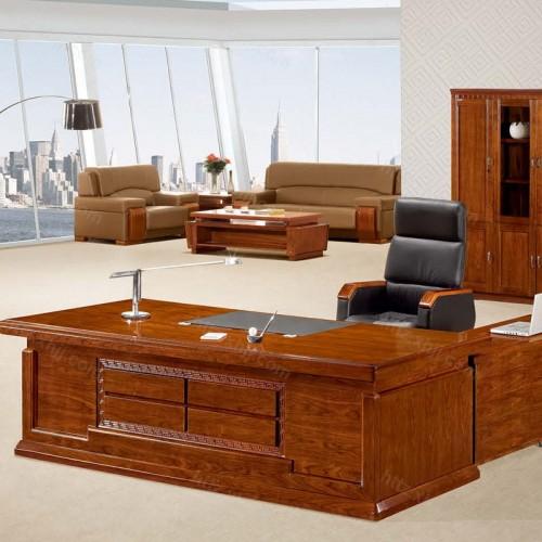 简约班台实木老板桌经理桌CT 2416Z