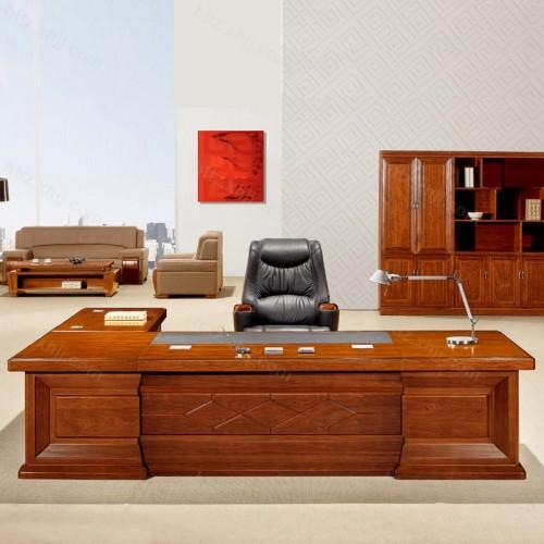 简约班台实木老板桌经理桌CT 3209Z