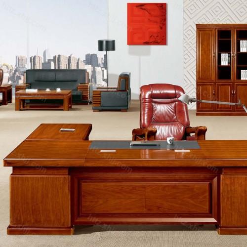 简约班台实木总裁老板桌经理桌CT 2816-1Z