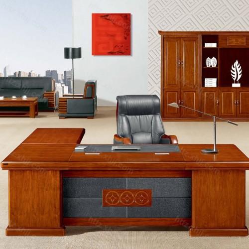简约班台实木总裁老板桌经理桌CT 2648Z