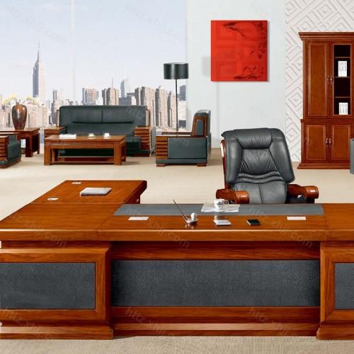 简约班台实木总裁老板桌经理桌CT 3512Z