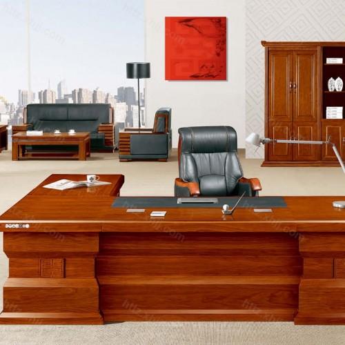 简约班台实木总裁老板桌经理桌CT 3005Z