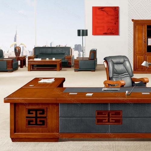 简约班台实木总裁老板桌经理桌CT 3517Z