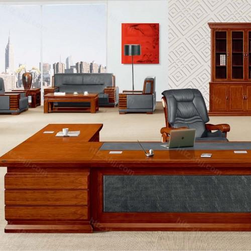简约班台实木总裁老板桌经理桌CT 3816Z