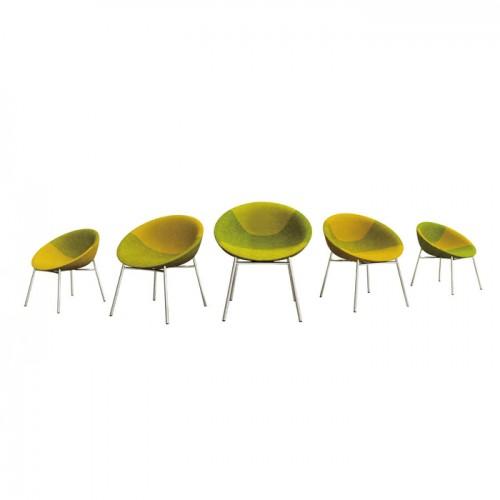 北欧创意办公室不锈钢腿休闲椅接待洽谈椅15