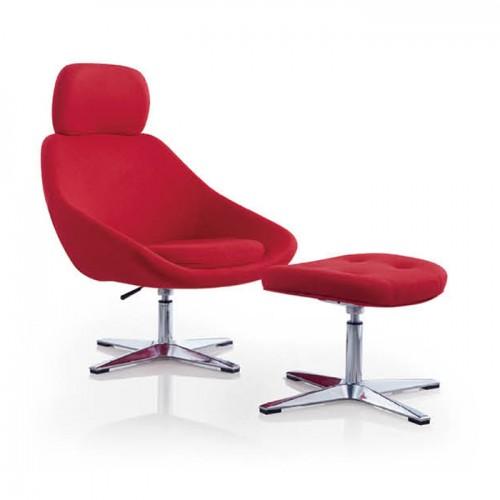 北欧办公室可升降休闲沙发椅21
