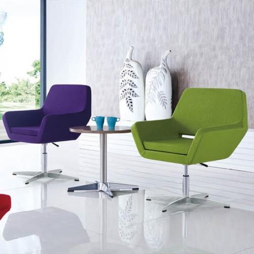 北欧办公室可升降休闲接待沙发椅洽谈椅22