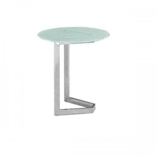 简约创意不锈钢腿洽谈桌接待桌13