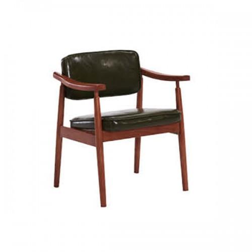 北欧实木办公椅会客椅洽谈椅15