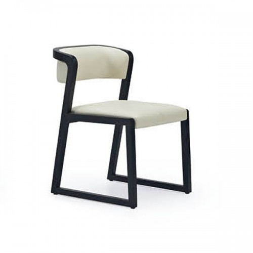 北欧实木办公椅会客椅16
