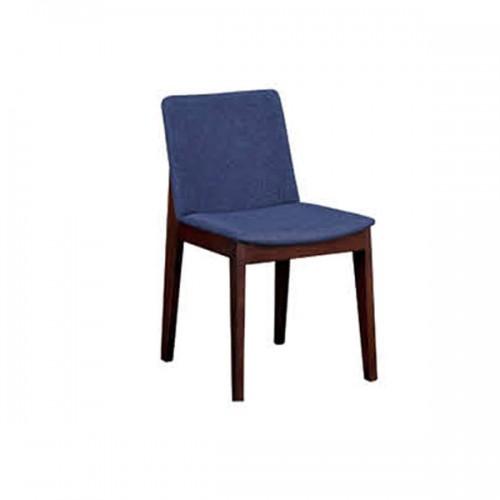 北欧靠背椅家用休闲椅布艺餐椅子21