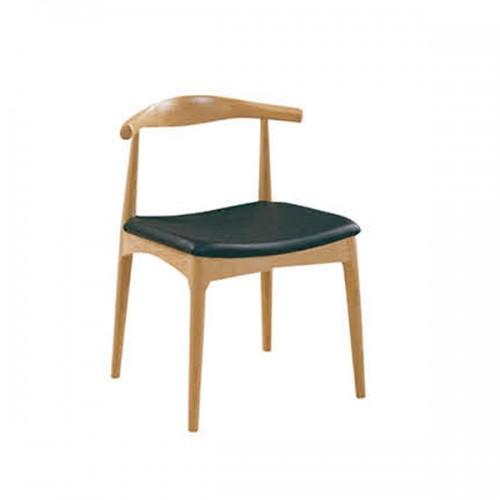 实木靠背餐椅北欧简约休闲餐厅咖啡椅27