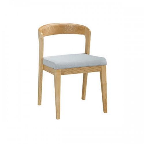 北欧实木洽淡椅简约办公桌家具29