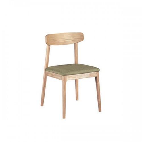 实木现代简约餐椅无扶手休闲靠背椅32