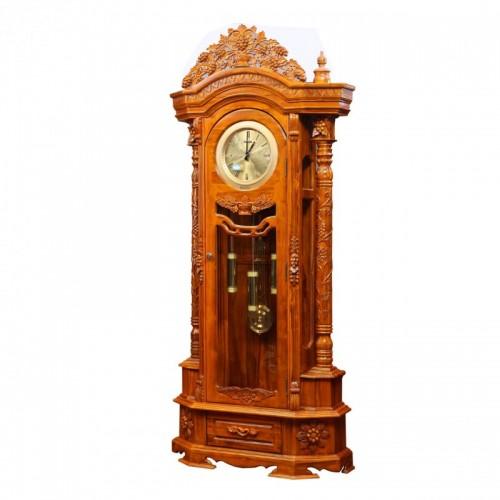 古典欧式大摆钟 纯实木雕花大摆钟 客厅摆件大摆钟_DPP_0026_副本