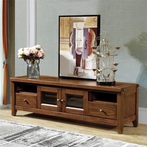 简约实木组合电视柜客厅电视柜 时尚美式组合电视柜 法式风格组合电视柜_MD-817