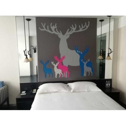 酒店家具床