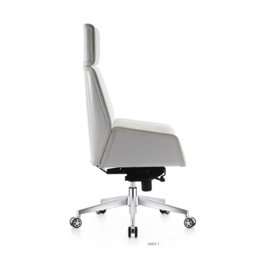 简约时尚牛皮老板大班椅A602-1