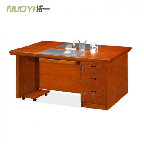 现代简约实木电脑桌双