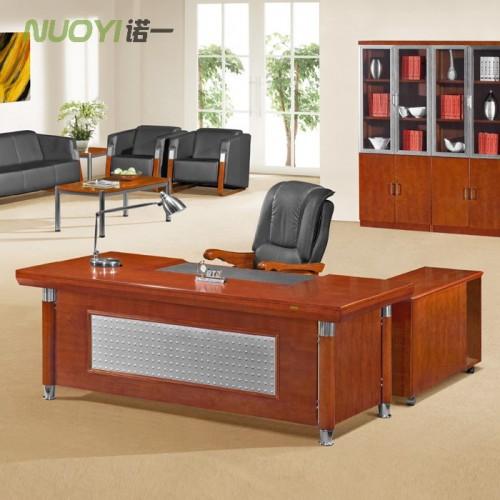 简约实木班台总裁经理办公桌HY-D4421