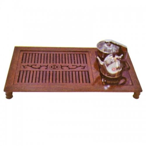 时尚实木上下抽水电磁炉茶盘茶道D-022