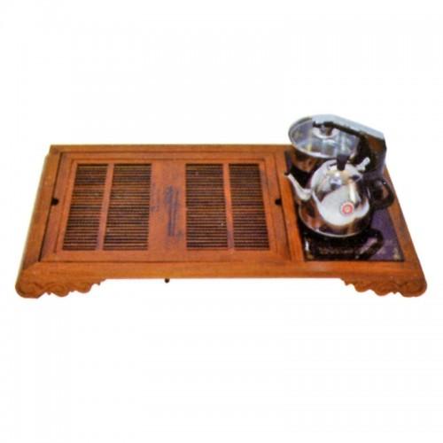 现代时尚上下抽水电磁炉茶盘茶道D-010