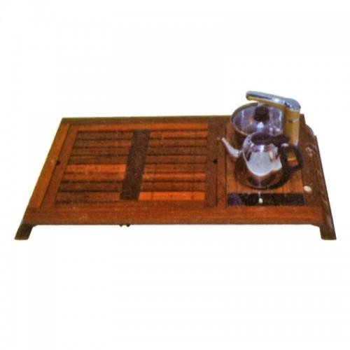 简约实木上下抽水电磁炉茶盘茶道D-003