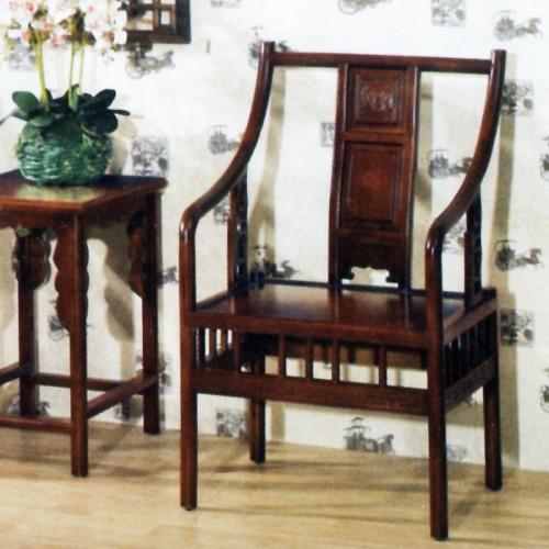 简约中式橡木茶桌茶椅组合X-028