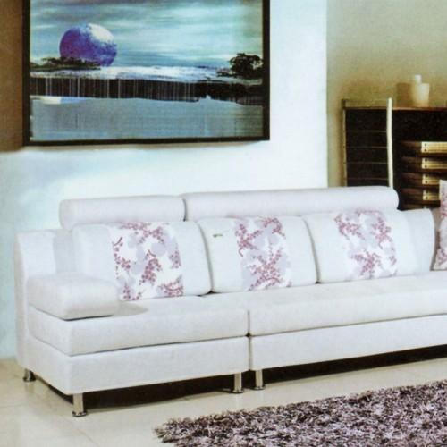 客厅时尚沙发组合现代简约转角布沙发-001