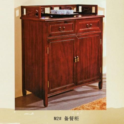 橡木新中式餐边柜储物柜 M2