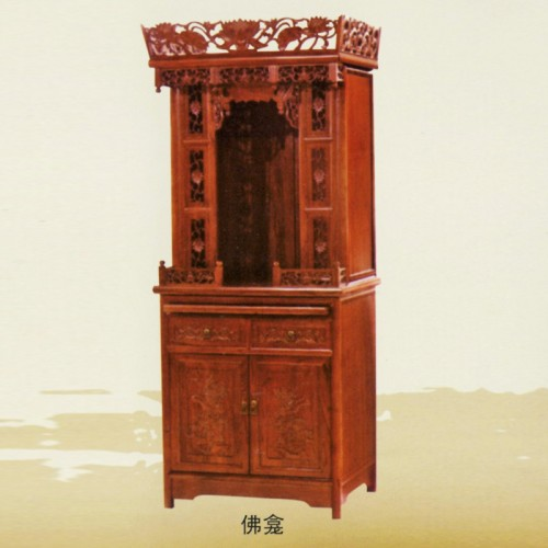 佛龛立柜供桌供台榆木神台神龛