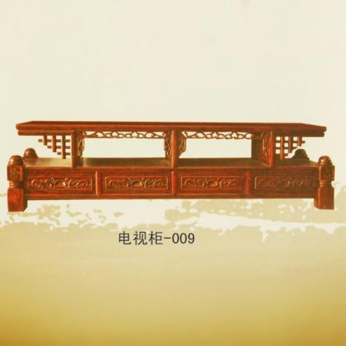 实木电视柜仿古中式客厅老榆木电视柜-009