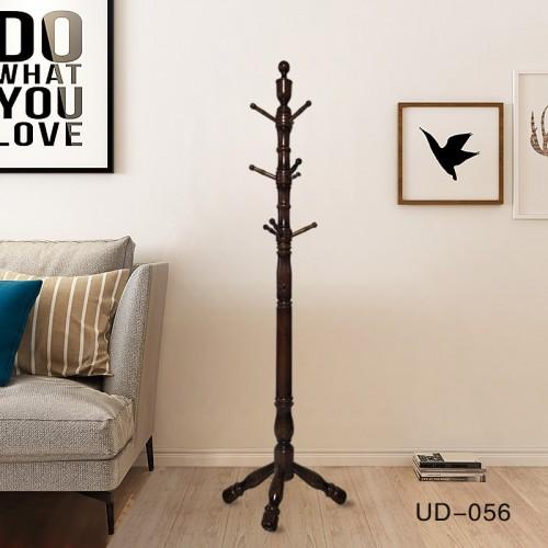 现代实木立式衣帽架落地式衣架UD-056