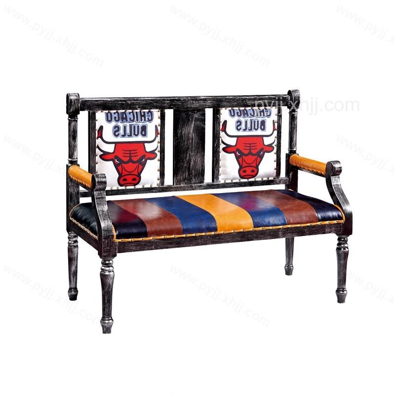美式复古时尚卡座沙发I-004