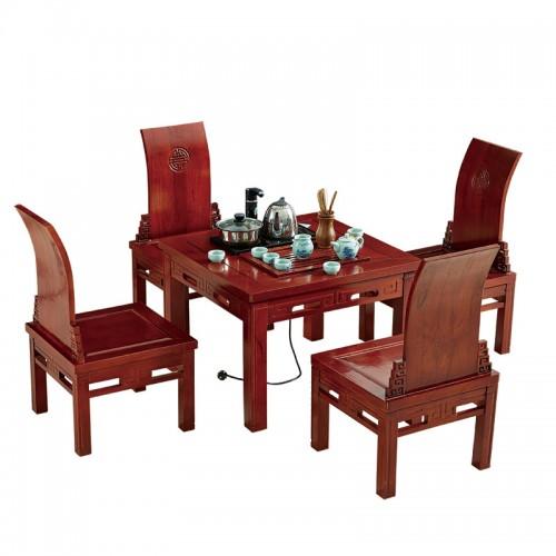 现代中式实木茶道桌E-014