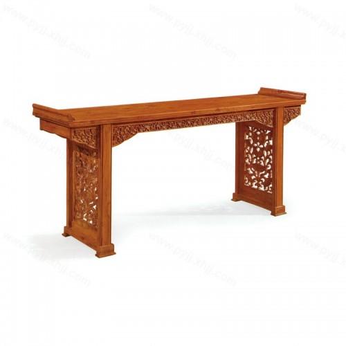 新中式榆木玄关条案供桌D-056