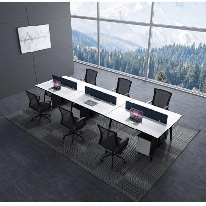 职员工作位 员工桌 屏风隔断桌椅组合